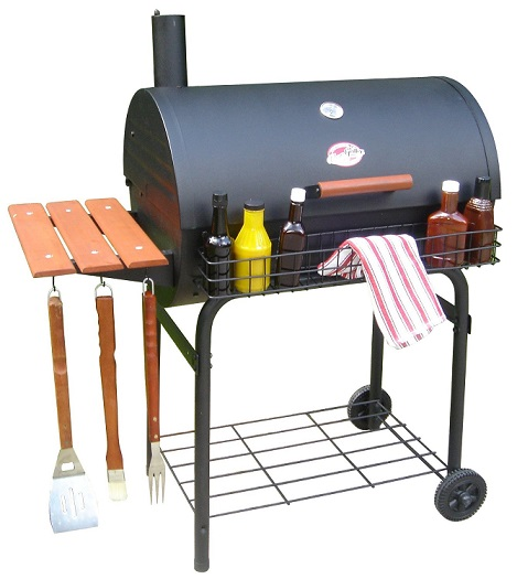 Char-Griller 2828 Pro Deluxe Charcoal Grill Review