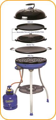 Cadac Carri Chef Deluxe Combo Barbecue
