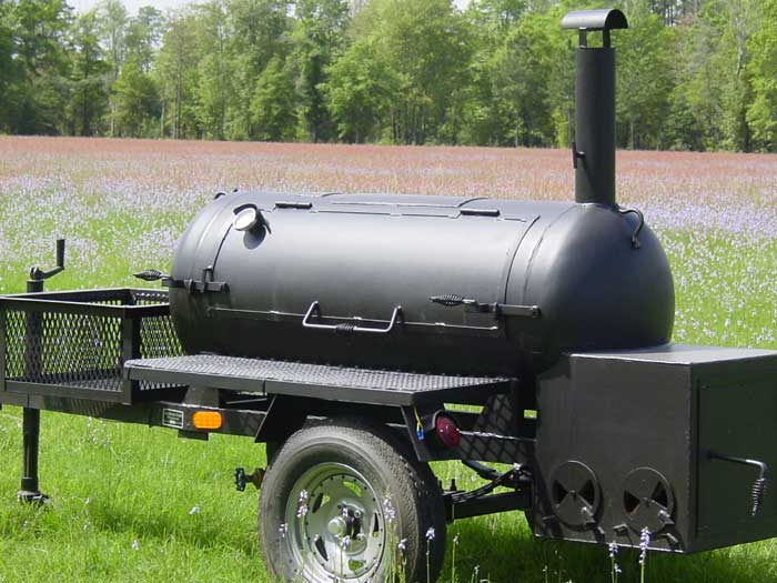 Lang Model 60 barbeque smoker graphic