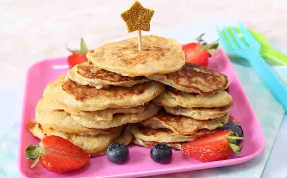 Two ingredient sweet potato pancake
