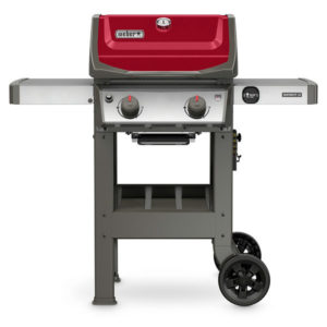 Weber 44030001 Spirit II E-210 LP Outdoor Gas Grill, Red