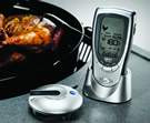 Weber Style Digital Thermometer with Probe